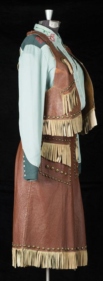 Vintage Cowgirl Outfit