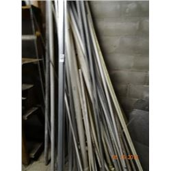Lot of Pvc & Metal On Wall