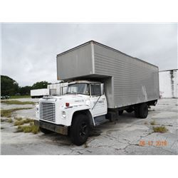 1973 International Loadstar 1600 24' Box Truck