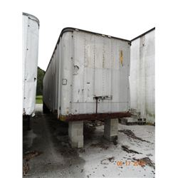 Strick T/A 40' Semi Trailer Storage Only (No Title)