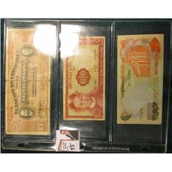 (2) Bank notes from Viet Nam & a 1915 Mexico Revolutionary War.