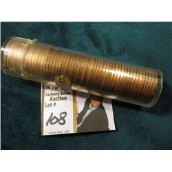 1952 D Original Uncirculated Roll of U.S. Wheat Cents. Maybe an occasional carbon speck in this roll