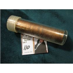 1949 P Original Uncirculated Roll of U.S. Wheat Cents. Maybe an occasional carbon speck in this roll