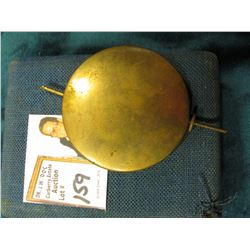 Clock Pendulum Brass and Metal, lead weighted in a Watch Box for a size 18 or larger size. Interesti