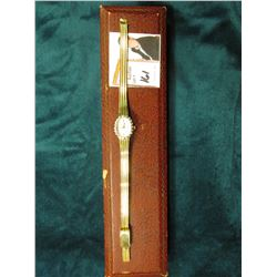 "Ladies ""Elgin"" Wristwatch in an Box. Appears to need a Battery."