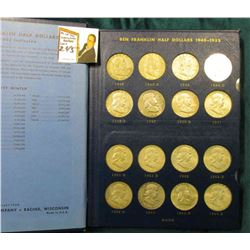 1948-67 Complete Set of U.S. Silver Half Dollars in a Whitman album. (40 pcs.).