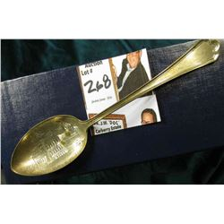 """""""High School/Hartley, Ia."""" Souvenir Spoon stamped on back """"Sterling""""."""