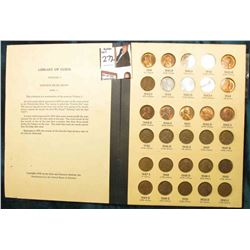 1941-76 Nearly complete Set of Lincoln Cents in a Library of Coins album. Circulated. Lots of BU. (8