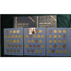 (2) Empty 1909-40 Whitman Coin Folders; & 1938-61 Partial Jefferson Nickel Set in a Whitman folder.
