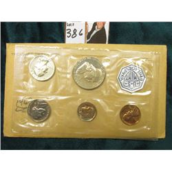 1962 U.S. Proof Set in original cellophane as issued.