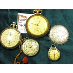 """Jewel"" Fake advertising watch; Timex Watch head; engraved Watch back lid; ""Cimier"" Chronometer (not"