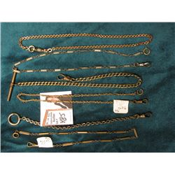 (6) Different Watch Chains. All good condition.
