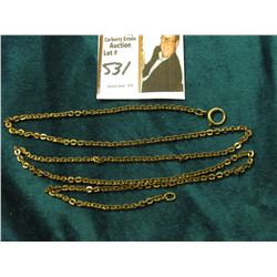 "1/20th 12K G.F. Necklace or Watch chain. 25"" in length."