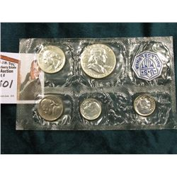 1956 U.S. Silver Proof Set in original cellophane as issued by the Mint.