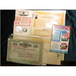 "(2) Note pads ""Mother's Pie Co….E.Moline, ill."" & ""International Milling Company…Davenport, Ia.""; la"