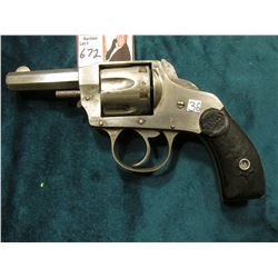 Hopkins & Allen Arms Co., Norwich, Conn. Revolver. 6 round capacity. Non-working condition. You must