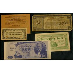 """Buster Brown ""Bucks"" 50c"" Scrip, ""McNeil""; August 1933 ""County of Guilford State of North Carolina"""