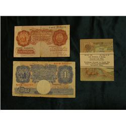 Original Tatham Stamp & Coin Co. paper band around a Crisp unc 1905 Russia, 3 Rubles Imperial Czar N