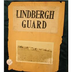 "Original ""Lindberg Guard"" Security arm band used at Lambert Field in St. Louis on Lindy's arrival. C"