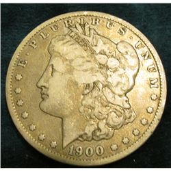 1900 O Morgan Silver Dollar. Fine.
