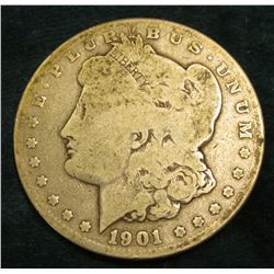 1901 O Morgan Silver Dollar. G/AG.