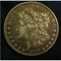 1889 O Morgan Silver Dollar. Fine.