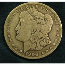 1900 O Morgan Silver Dollar. Very Good.