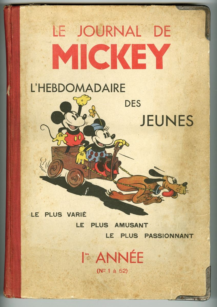 hardcover collection of le journal de mickey. Black Bedroom Furniture Sets. Home Design Ideas