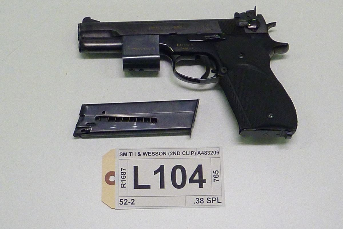 smith wesson model 52 2 caliber 38 spl rh icollector com Corvette Owners Manual Car Owners Manual