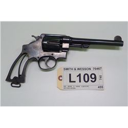 SMITH & WESSON , MODEL: 455 MARK II HAND EJECOTR SECOND MODEL , CALIBER:  455