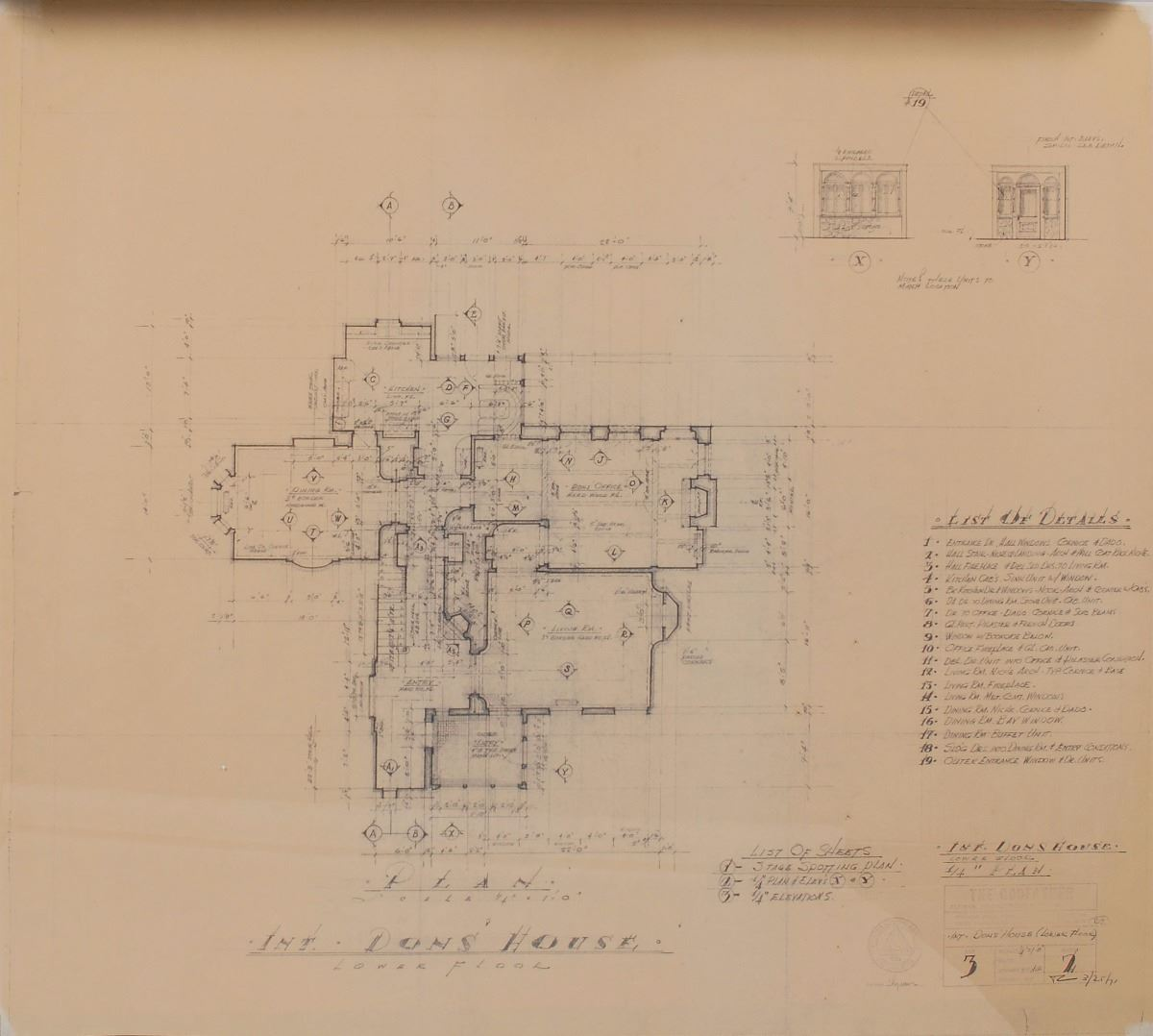 Godfather collection of 16 blueprints for the construction of the image 5 godfather collection of 16 blueprints for the construction of the corleone malvernweather Image collections