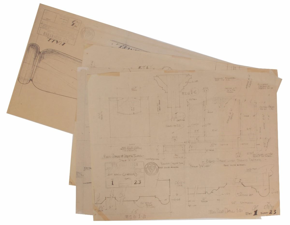 Godfather collection of 16 blueprints for the construction of image 9 godfather collection of 16 blueprints for the construction of the corleone malvernweather Image collections