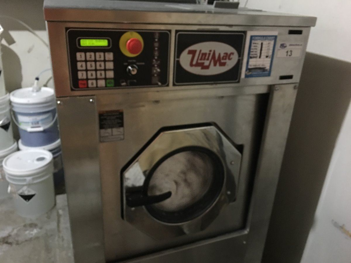 unimac commercial washing machine