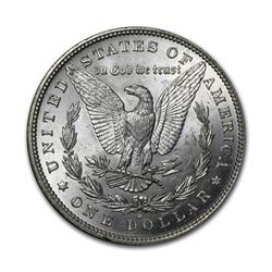 1882-O $1 Morgan Silver Dollar AU