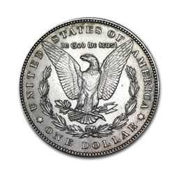 1889 $1 Morgan Silver Dollar AU