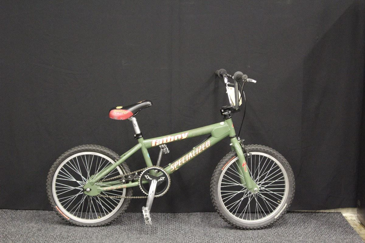 GREEN SPECIALIZED FATBOY BMX BIKE - Able Auctions