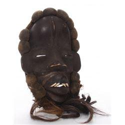 African Dan Complex tribal mask from Liberia and Cote D