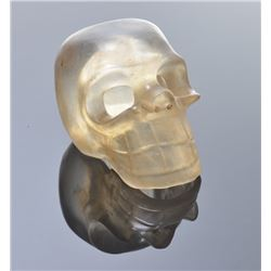 Crystal Skull, hand carved.  Provenance: Purchased at a