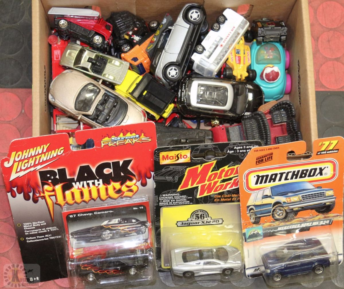 Small Toy Cars : Box of small toy cars kastner auctions