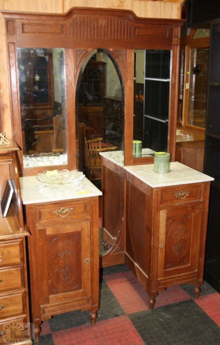 Wood marble top vanity unit - Marble vanity units ...