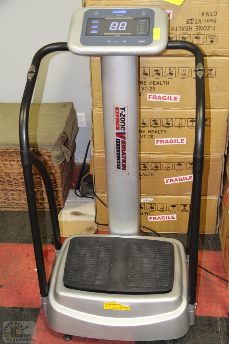 t zone vibration machine price