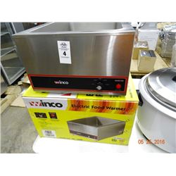 Winco Electric Food Warmer