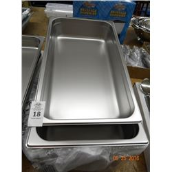 "Full Size by 4"" Insert Pans - 6 Times the Money"