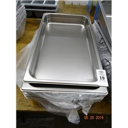 "Full Size by 2"" Insert Pans - 6 Times the Money"