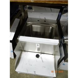 Advance S/S Bar Sink w/Rail