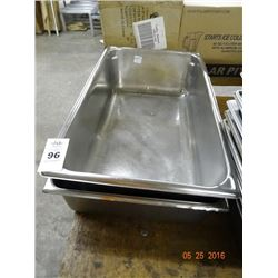 """Full Size by 6"""" Insert Pans - 2 Times the Money"""