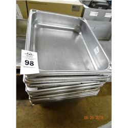 """1/2 Size by 2"""" Insert Pans - 10 Times the Money"""