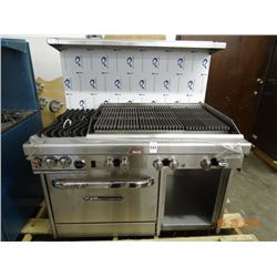 Southbend Gas Char Grill/2 Burner with Oven