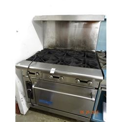 American Range Gas 6 Burner w/Convection Oven