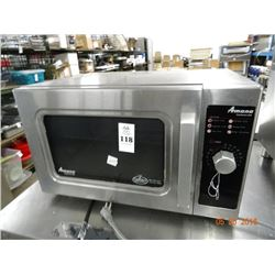 Amana S/S Commercial Microwave